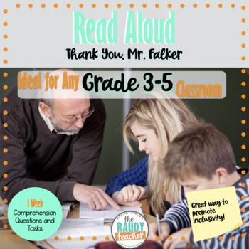 Thank you, Mr. Falker Read Aloud Unit