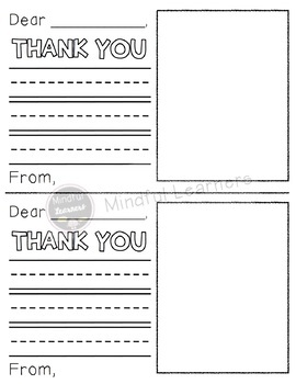 Thank you Notes- Donor's Choose