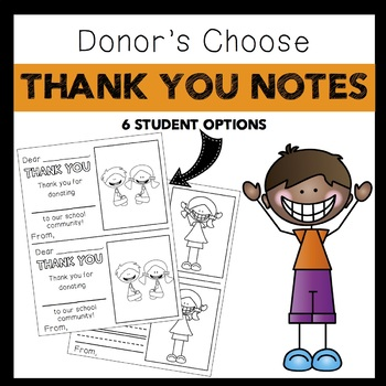 Thank you Notes: Donor's Choose