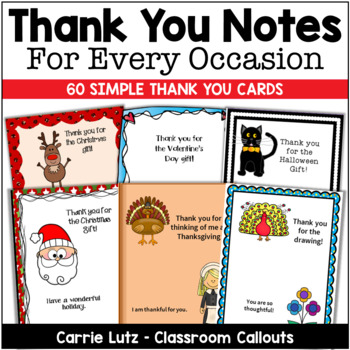 Thank You Notes for Every Occastion