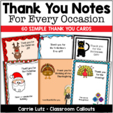 Thank You Cards | Thank you Notes for Every Occastion