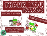 Thank you card -- Share a cup of cheer!