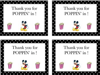 Thank you for POPPIN' In