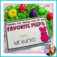 Favorite Peeps- Editable Easter Gift Tags