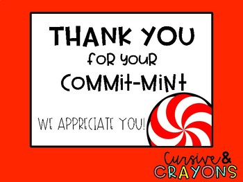 "Thank you for your commit ""mint"""