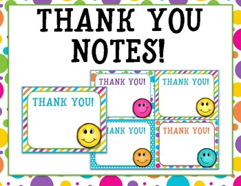 Thank you notes for any occasion