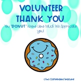 Thank you printables for volunteers!