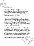 Thankful Bag Family Involvement