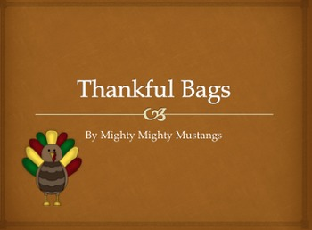 Thankful Bags