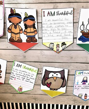 Thankful Banners - a Thanksgiving Activity
