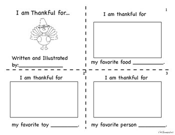 Thankful Book (Thanksgiving)