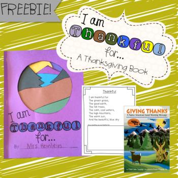 Thankful Book Freebie