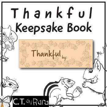 Thankful Book Minimal Prep