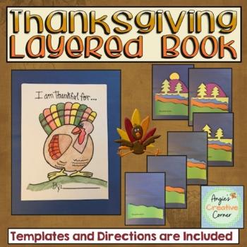 Thankful Layered book Project