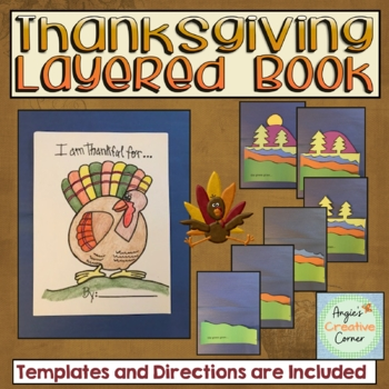 Thankful Layered book Project