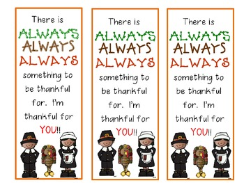 Thankful Bookmarks