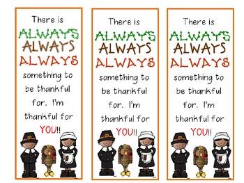 Thankful Bookmarks