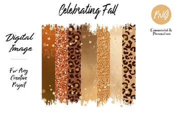 Thankful  Brush sublimation, gold leopard swash png, file for Design Printing