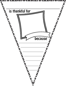 Thankful Bunting Project