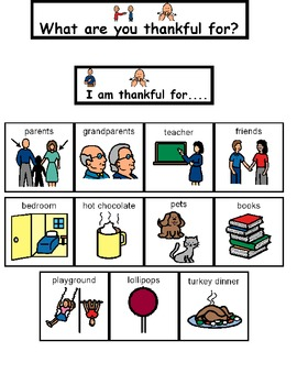 Thankful Communication Board