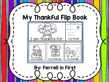 Thankful Flip Book