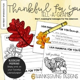 Thankful For You Tell-A-Gram Notes
