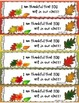 Thankful For You Thanksgiving Fall Editable Bookmarks