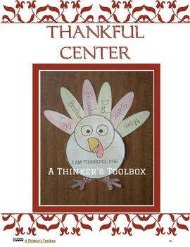 Thanksgiving Fun - Center Activities