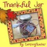 Thankful Jar {Thanksgiving Class Gift for Principal, Teacher, or Family}