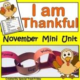 Thanksgiving Activities and Thankfulness Activities Bundle