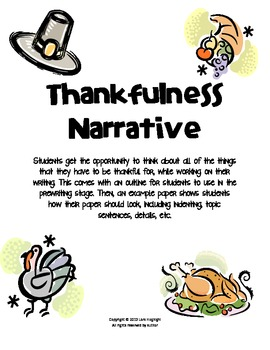 Thankful Narrative