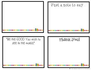 Thankful Notes {FREEBIE}