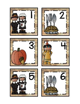 Thankful November Calendar Cards
