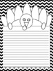 Thankful November Writing Paper with Turkey