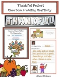 "Thanksgiving Activities: ""Thankful Packet"" Class Book & Writing Prompt Craft"