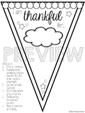 Thankful Pennant Display {A Thanksgiving Class Activity}