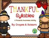 Thankful Syllables