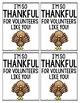 Thankful Tags
