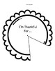 Thankful Thanksgiving Pie:  Gratitudes
