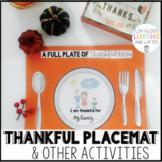 Thankful Thanksgiving Placemat & More!!!