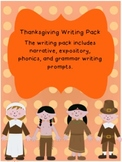 Thankful Thanksgiving Writing Activities