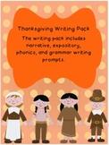 Thankful Thanksgiving Writing Pack (11)