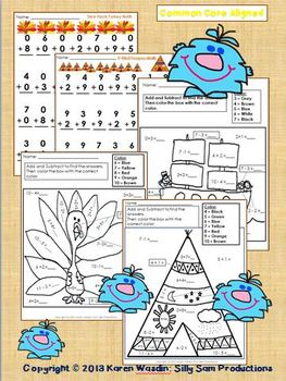 THANKSGIVING MATH! :Thankful Thinking MATH Activities