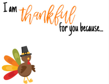 Thankful Thursday Notes