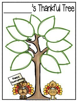 Thankful Tree: A Fun Thanksgiving Activity! [Thanksgiving Tree]