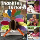 Thankful Turkey (November Writing and Craft Project)