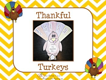 Thankful Turkey Activity