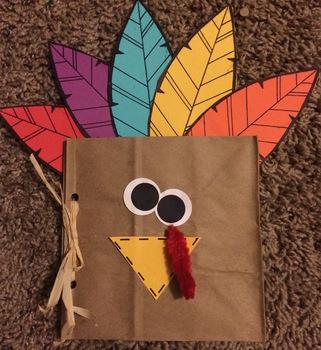 Thankful Turkey Book