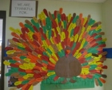 Thankful Turkey Bulletin Board