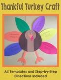 Thankful Turkey Craft (Thanksgiving)